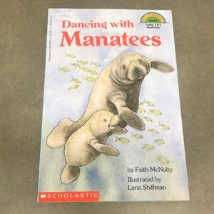 5/$10 - Book - Dancing With Manatees